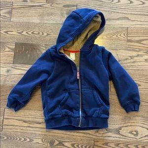 Carters lined hoodie